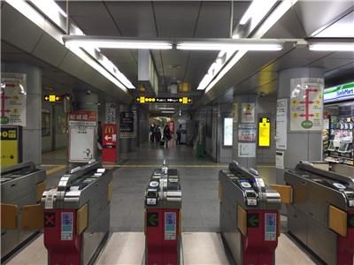 谷町四丁目駅改札