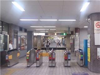堺筋本町駅西北改札